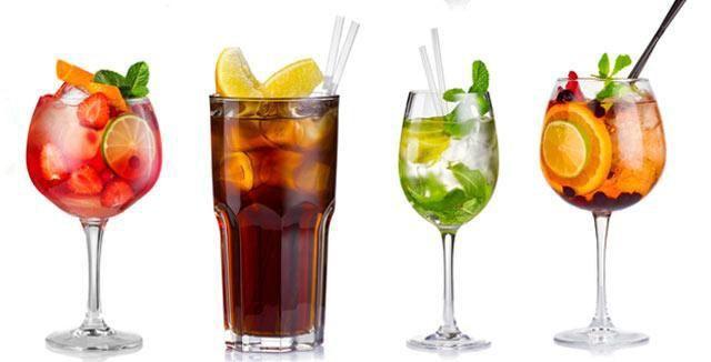 Zkuste doma jednoduché koktejly.
