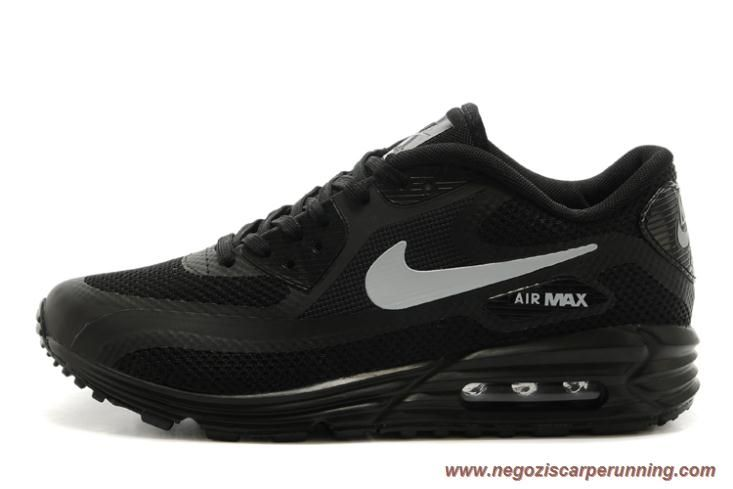 scarpe calcio bambino Uomo 599249-222 Nike Air Max Lunar90 Nero