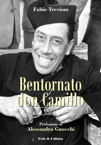 """Bentornato don Camillo (Collana Letteraria) (Italian Edition) by Fabio Trevisan. $5.71. http://yourdailydream.org/showme/dpgrw/Bg0r0wApFbInVqJfXiYm.html. Publisher: Fede & Cultura (November 28, 2012). 104 pages. Con """"Bentornato Don Camillo"""" si intende rendere il giusto onore ad un grande uomo e geniale scrittore italiano:Giovannino Guareschi.Guareschi è stato epurato dalle scuole, dalle università e dalle istituzioni culturali, ma le sue """"creature"""