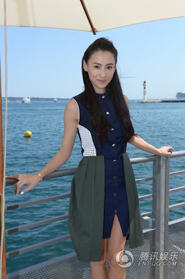 Cecilia Cheung in Cannes
