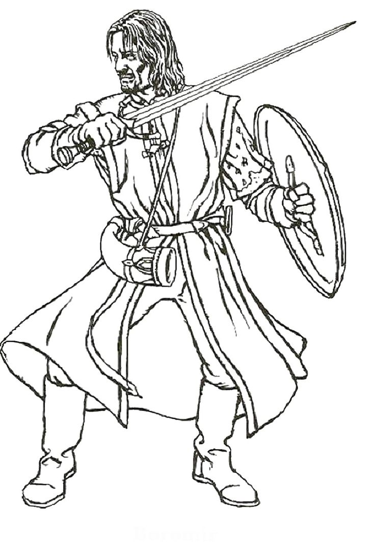 G force coloring pages - Lord_of_the_rings_cl09 Jpg 950 1400