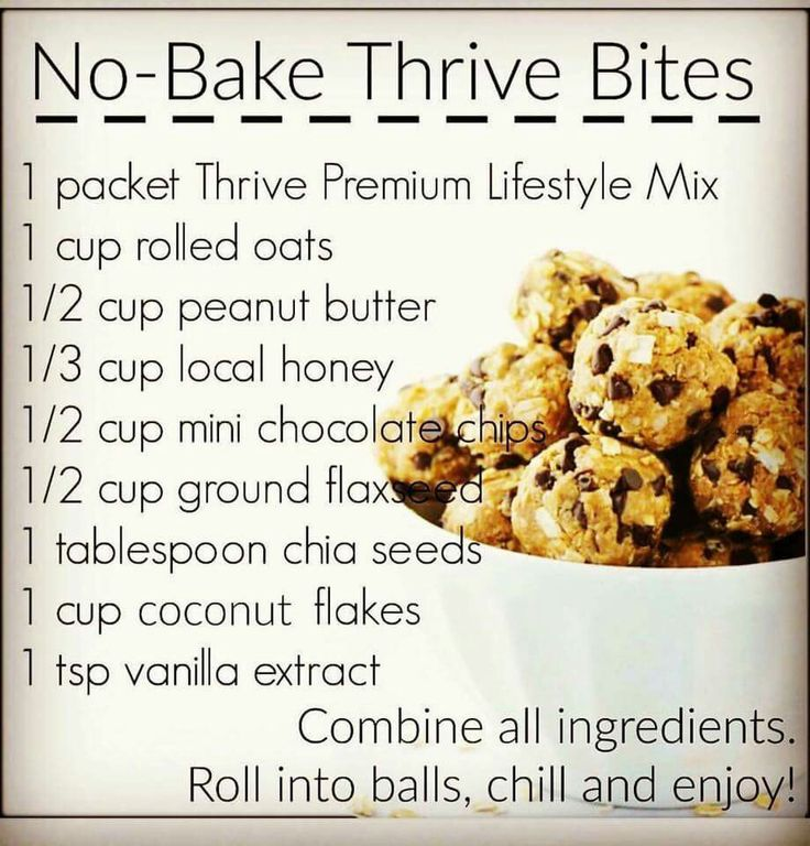 You can do anything with #THRIVE ! YUM!