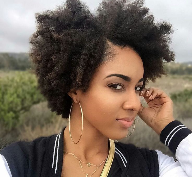 Quick Hairstyles For Short Natural African American Hair Beauteous 390 Best Natural Hairstyles For The Wedding Images On Pinterest