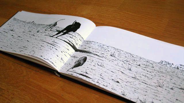#LIBRO #ILUSTRACION #CROWDFUNDEADO #CROWDFUNDING Cuenta la historia de un galgo negro, nacido para correr y para perseguir a la liebre. A través de un texto poético y de imágenes en blanco y negro conoceremos su vida en el campo, en la carretera, en sus sueños, y el secreto, con su amigo el viento, que lo impulsa a avanzar siempre hacia adelante. http://www.verkami.com/projects/8693-el-silencioso-amigo-del-viento-un-cuento-ilustrado Crowdfunding verkami