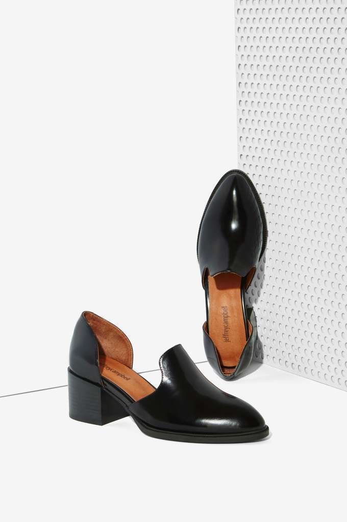 Jeffrey Campbell Appeal Leather Loafer - Shoes | Jeffrey Campbell