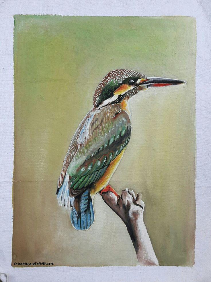 Lonely bird.......