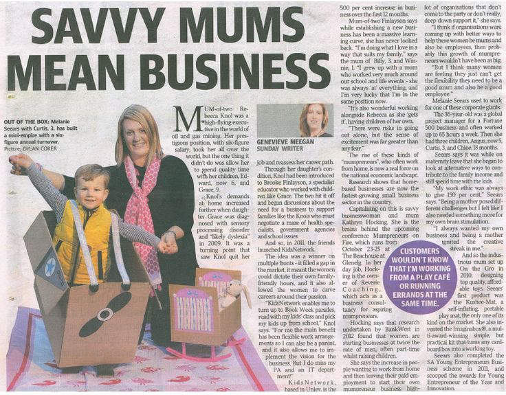 A recent article that featured in the local Sunday Mail paper (SA).