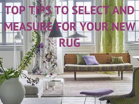 Learn how to select and measure for your new rug. Read the blog https://gaudions.com.au/blogs/news/how-to-select-a-rug #rug #rugs #bespokerugs #custommaderugs