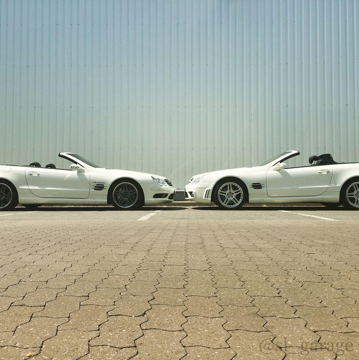 Awesome sportscar Mercedes Benz SL R230 55 AMG