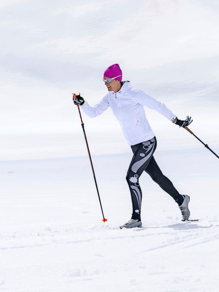 Oikeaoppisella verryttelyllä saa helposti lisätehoa hiihtoladulle