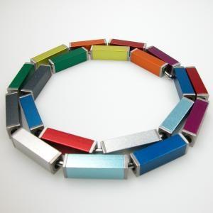 anodised aluminium jewellery -