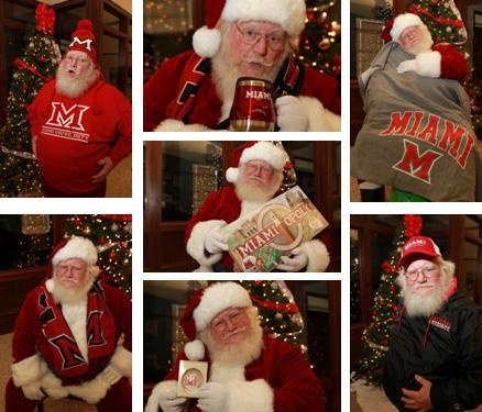 Not to late to get your Miami gifts for the holidays. Visit the Miami University Alumni Association and Miami University Bookstore web pages for some great gift items – red and white always looks good in a stocking or under the tree!
