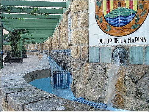 Plaza de los Chorros, Polop