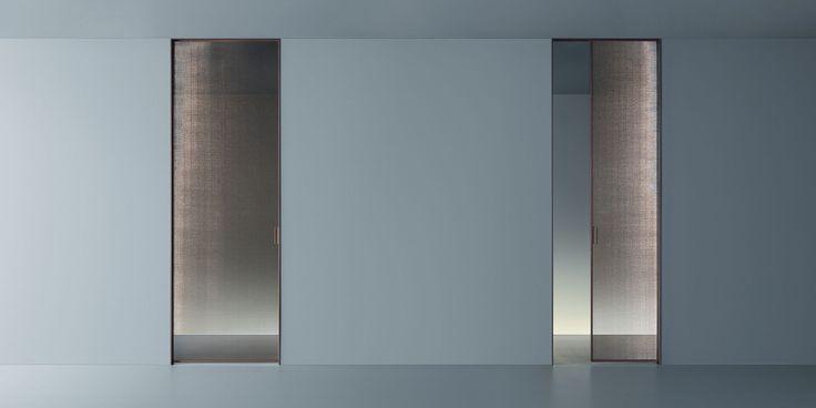 VELA door by Rimadesio: a design with special and innovative features. #interdema #door #design #elegantdesign #homefurniture #Rimadesio #дизайн #элегантныйдизайн #мебельдлядома