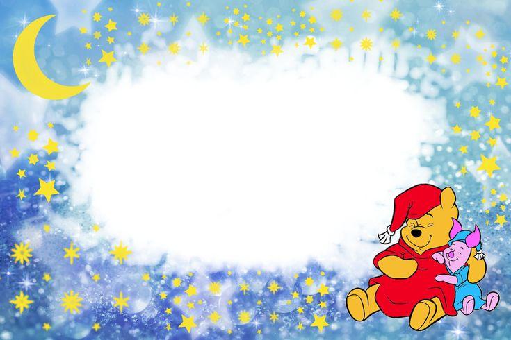 Marcos Para Photoshop Y Algo Mas Winnie Pooh Lindos