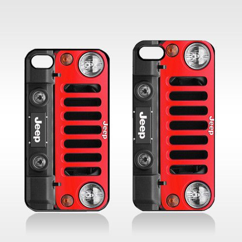 Red Jeep Wrangler Sport 4x4 SUV Only in A Jeep Apple iPhone 4 4S 5 Case | eBay