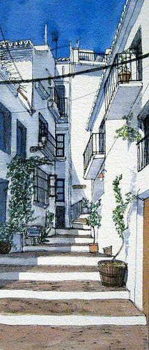 Watercolour frijiliana – Francesca Whetnall