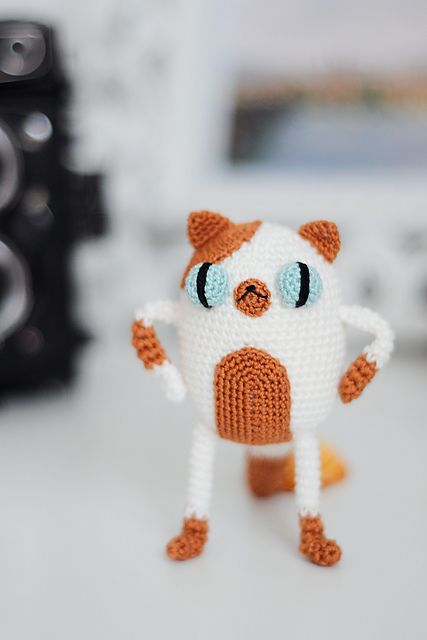 Ravelry: Amigurumi Cake the cat free crochet pattern by Natalia Anisimova