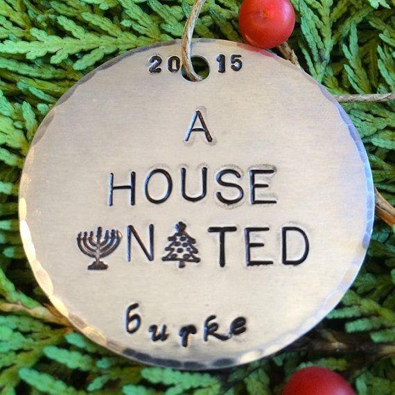 Interfaith Christmas Ornaments/Hanukkah Decorations/Jewish Christmas Ornaments/A House United™/Interfaith Ornaments/Jewish Ornaments