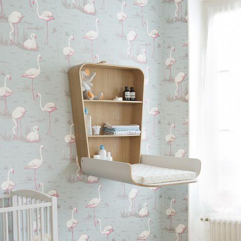 Original Charlie Crane Noga Wickeltisch klappbar (weiß) online kaufen ✓ Wandwickeltisch aus Holz ✓ Platzsparend & Stabil ✓ Versandkostenfrei bestellen