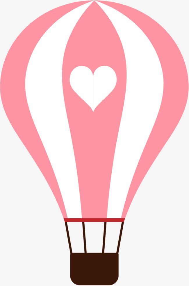 Pink Balloon Design Balloon Cartoon Balloon Vector Png And Vector With Transparent Background For Free Download Hot Air Balloon Craft Balloons Cute Heart Drawings