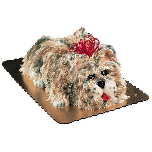 how to make a dog food cake
