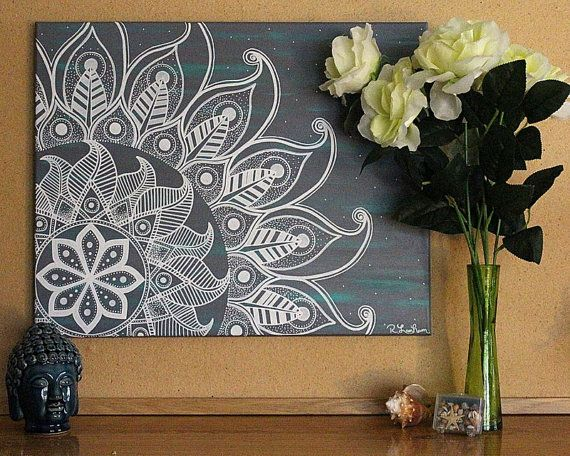 Best 25 Mandala painting ideas on Pinterest