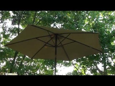 How To Repair A Broken Patio Umbrella Arm With Copper Pipe