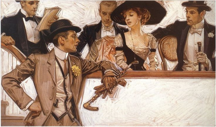 More studies by Joseph Christian Leyendecker (American, 1874-1951)   Things of beauty I like to see