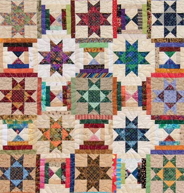 Different ways to organize and use scraps for quilting.  Scrappy quilt tutorial.