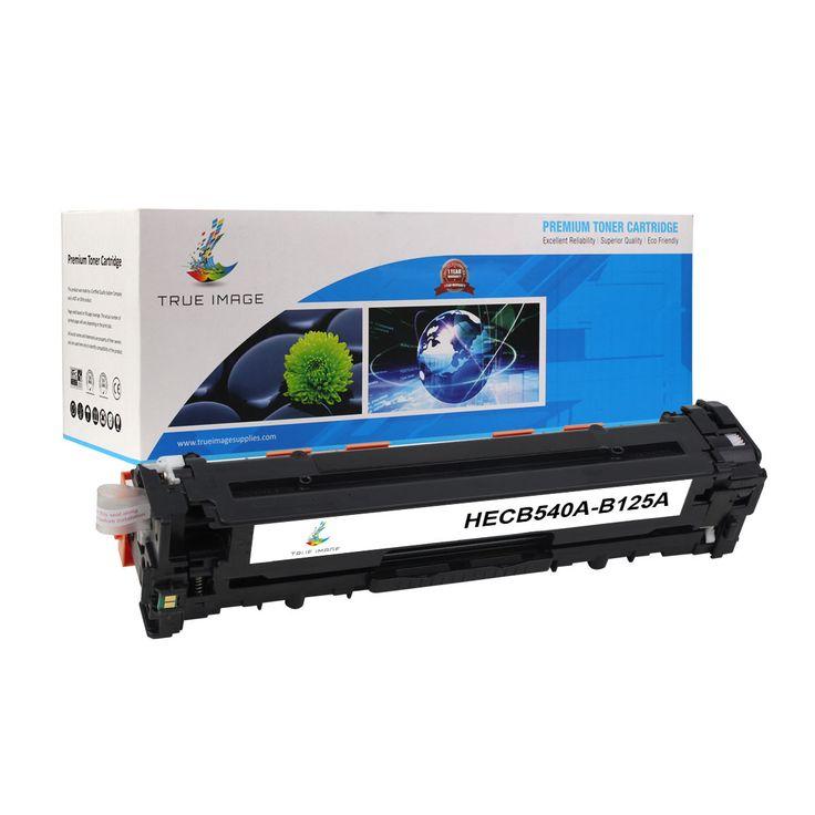 TRUE IMAGE HECB540A-B125A Black Toner Replaces HP CB540 B125A