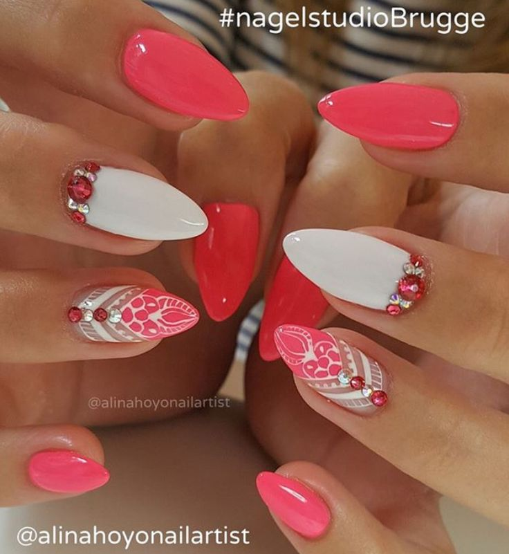 Nailart stiletto nails