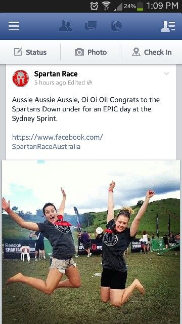 Run the Spartan race in Australia!!!! And other countries as well :)