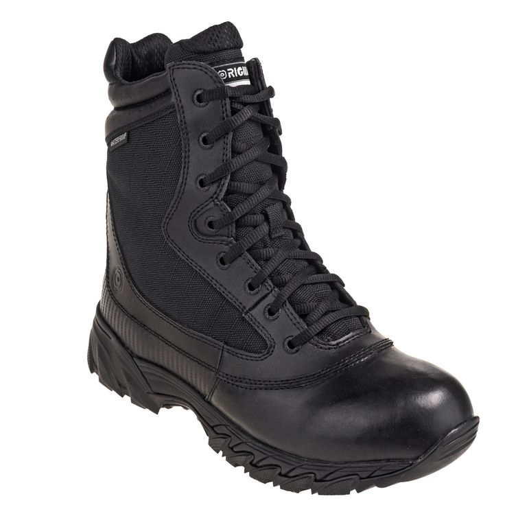 Original SWAT Men's Waterproof Black Chase 9-Inch Side-Zip 139601 Tactical Boots