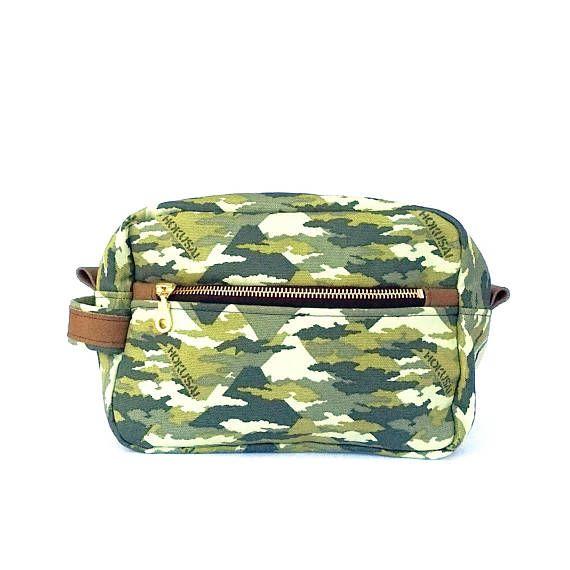 Toiletry Case Camouflage Mens Dopp Kit Men Shaving Kit