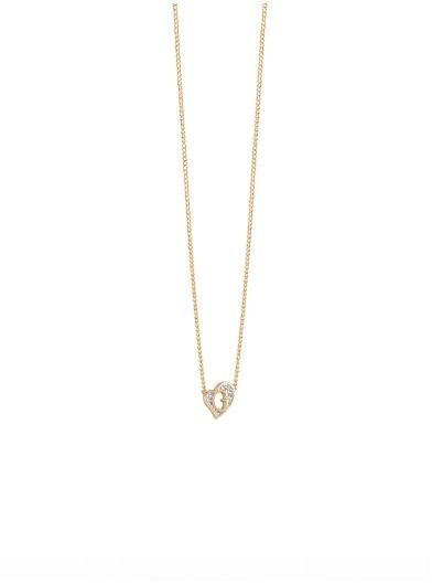 G Hearts gold-plated Necklace