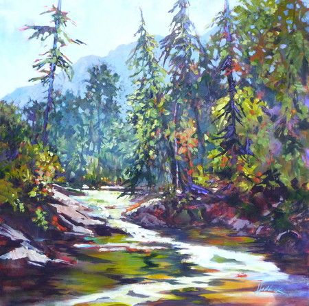 Oak Creek Afternoon - Perry Haddock