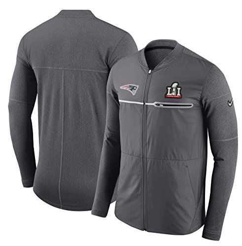 New England Patriots Super Bowl 51 Men's Nike Full-Zip Hybrid Jacket (2XL)  https://allstarsportsfan.com/product/new-england-patriots-super-bowl-51-mens-nike-full-zip-hybrid-jacket-2xl/  Authentic Nike Product-Officially Licensed by the NFL Size: 2XL (XXL) Dropped back hem enhances coverage