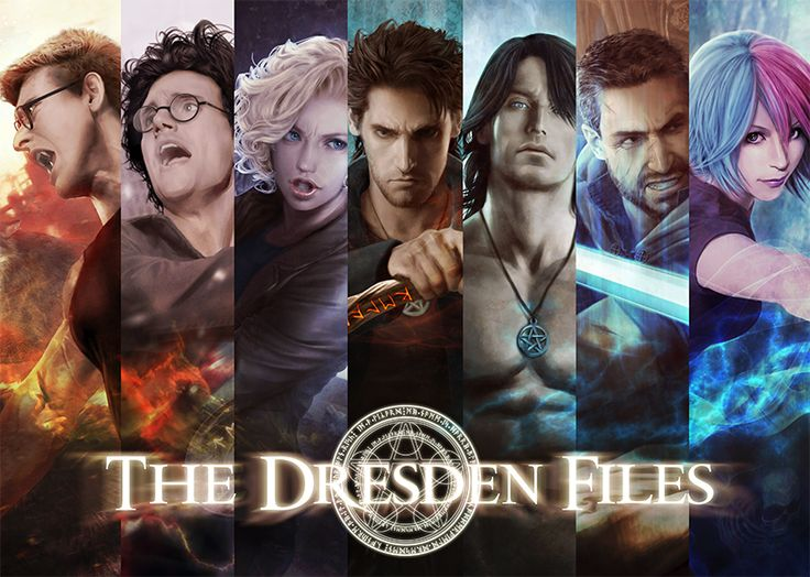 Team Dresden 2015 by Mika-Blackfield on DeviantArt. She does my favourite Dresden Files art :D