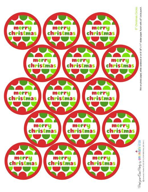 69 best Christmas Labels and Tags images on Pinterest   Christmas ...