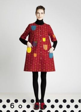 Marimekko - (I had two of these dresses when I was a child.. One was sort of mustardy yellow, and the other one was purple, I think..)