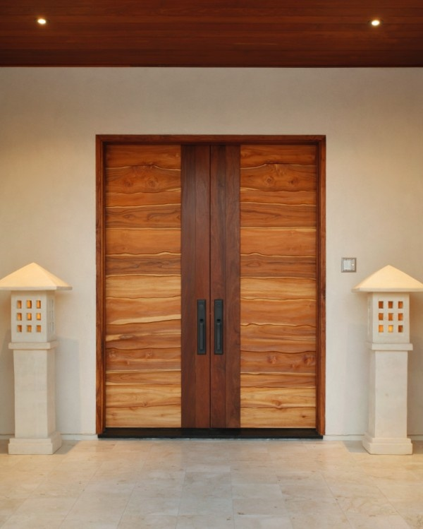 30 Modern Entrance Design Ideas For Your Home: Over Sized Door Front Doors. Double Doors. Contemporary