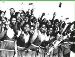 I was a child in Lagos at this time, Nigeria's Independence Day in 1960 and can remember going to see the celebrations.