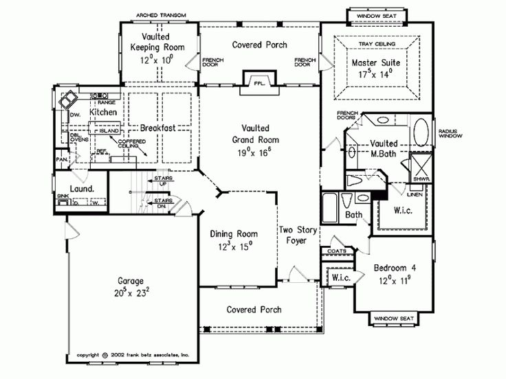 44 best house plans images on pinterest floor plans for American house design