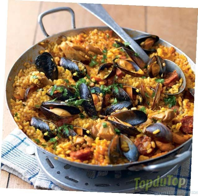 17 best images about paella on pinterest paella spanish rice and legumes. Black Bedroom Furniture Sets. Home Design Ideas