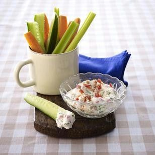 Gemüsesticks zu Paprika-Quark-Dip Rezept - Chefkoch-Rezepte auf LECKER.de | Kochen, Backen und schnelle Gerichte