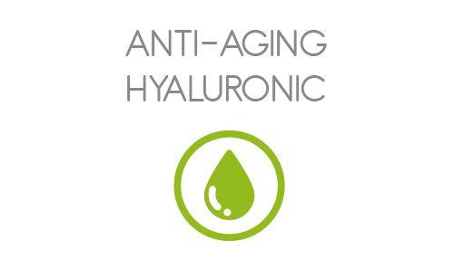 Jedna z troch línii španielskej certifikovanej bio-kozmetiky Svëntia je Anti-aging Hyaluronic. Je určená pre normálnu a zmiešanú pleť. Pozostáva z očného krému, pleťového séra a pleťového krému, www.plumeria.sk