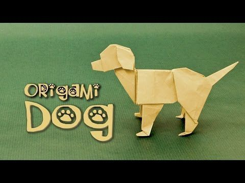 Origami Dog Tutorial: Labrador (Steven Casey) - YouTube