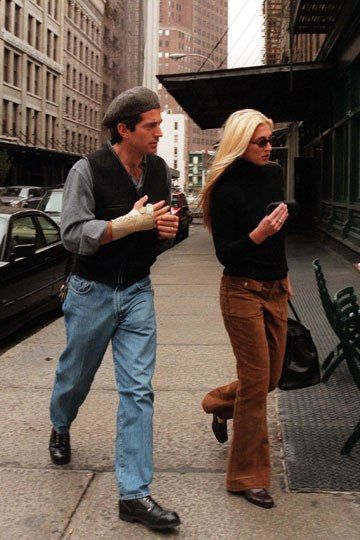 Watching Carole Radziwill on RHONY makes me recall how much I idolized Carolyn Besette Kennedy in high school.   J.F.K. Jr. and Caroline Bessette | Culture | Vanity Fair