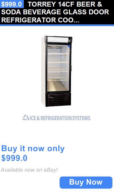 Food And Drink: Torrey 14Cf Beer And Soda Beverage Glass Door Refrigerator Cooler Merchandiser R14 BUY IT NOW ONLY: $999.0
